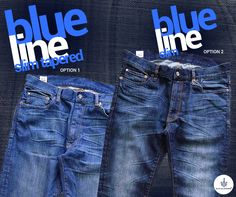 Choose your options from the finest jean makes – blue line, to start the week ahead. Denim Branding, Blue Line, Slim, How To Make, Pants, Fashion, Trouser Pants, Moda, Fashion Styles