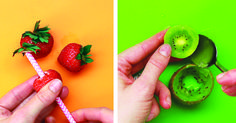 7 Genius Ways To Peel Your Fruit While Keeping Your Dignity Intact Cooking Tips, Cooking Recipes, Healthy Recipes, Healthy Foods, Healthy Summer, Summer Salads, Diy Snacks, Food Hacks, Food Tips