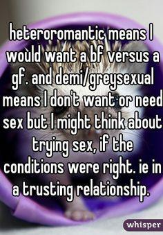 Heteroromantic but homosexual