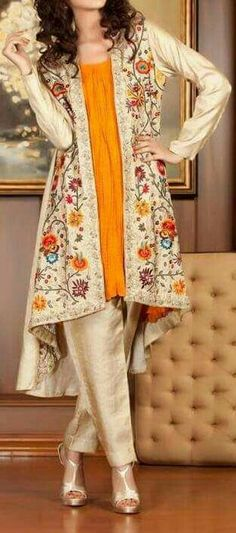 Buy discount womens party wear in Pakistan at Oshi. Book Online comport womens party wear in Karachi, Lahore, Islamabad, Peshawar and All across Pakistan. Pakistani Party Wear, Pakistani Outfits, Indian Outfits, Pakistan Fashion, India Fashion, Asian Fashion, Indian Attire, Indian Wear, Eastern Dresses