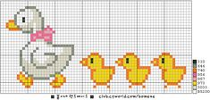 Dedicated viewers: Naver Blog Pixel Crochet Blanket, Cross Stitch Animals, Cross Stitch Baby, Cross Stitch Patterns, Cross Stitch Charts, Cross Stitch Designs, Cross Stitching, Cross Stitch Embroidery, Easter Cross