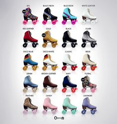 Vintage Roller Skates for The Arcade by Maylee_Oh, via Flickr