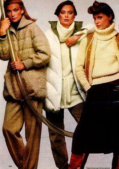 Ladies Home Journal - September, 1977 1977 Fashion, 1970s, Fur Coat, September, Journal, Lady, Jackets, Down Jackets, Fur Coats