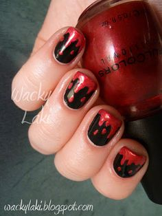 Halloween: Dripping Red