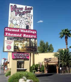 Viva Las Vegas Wedding Chapel...Where me & Kris got married by a preacher man that looks like Elvis! Well, actually we renewed our vows for our 10th anniversary, but that's not how the song goes, LOL!
