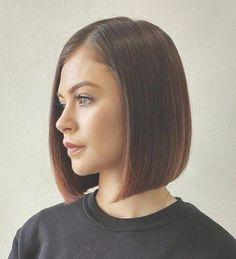 50 Spectacular Blunt Bob Hairstyles | Frauen Haare |