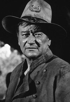 "John Wayne, portrait for ""Rio Lobo,"" 1970 John Wayne Quotes, John Wayne Movies, Hollywood Actor, Classic Hollywood, Hollywood Stars, Iowa, Wayne Family, Tv Westerns, Actor John"