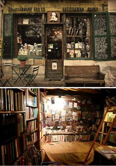 Shakespeare & Company, Paris, France - Probably the most photographed book shop in the world