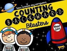 Counting Backward Blasters is packed full of colorful easy prep math…