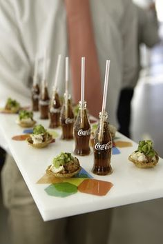 mini cokes! so cute.