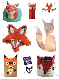 DIY Crafts to Make for Kids: Winter Fox Ideas & Projects | Apartment Therapy