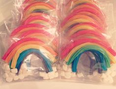 """Rainbows & Colors / Birthday """"Over the Rainbow Birthday Party""""   Catch My Party"""
