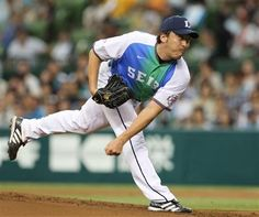 Kazuhisa Ishii tosses stellar 6 innings, striking out 3 and scattering 4 hits as he picks up his 8th win of the season at Seibu Dome on Saturday, August 18, 2012 in Seibu Railway 100th Anniversary Series.