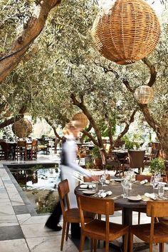 SoHo House, Rooftop restaurant in California by Eva0707