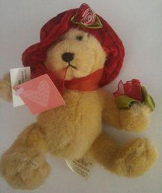 Dan Dee Collectors Choice Teddy Bear Valentines Day Vintage Toy S Stuffed Animal #DanDee