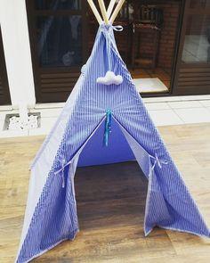 Teepee - Cabana Infantil - Azul