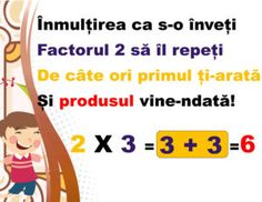 Inmultire 1- planșe terminologie School Staff, Algebra, Kids Education, Kids And Parenting, Coloring Pages, Classroom, Teacher, Learning, Children