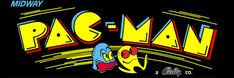 "Pac Man Marquee, Arcade, 12 x 36"" Video Game Poster, Print"
