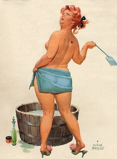 Hilda by Duane Bryers http://thepinuppodcast.com shares this image for the love of all things pin up