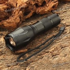 NEW-108 3-Mode 900LM White LED Zoom Convex Lens Flashlight w/ Strap (1 x 18650 / 3 x AAA). Brand Others,N/A Model NEW-108 Quantity 1 Piece Color custom10000 Material Aluminum alloy Other Features Zoom-to-throw Emitter Brand Cree LED Type XM-L Emitter BIN T6 Number of Emitters 1 Color BIN White Working Voltage 3.7~4.2 V Power Supply 1 x 18650 battery or 3x AAA batteries (not included) Current 2.5 A Actual Lumens 900 lumens Runtime 2 Hour Number of Modes 3 Mode Arrangement Hi,Low,Fast Strobe…