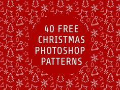 40 Free Christmas Themed Seamless Photoshop® Patterns With Transparency - FriendlyStock Christmas Patterns, Christmas Themes, Christmas Cards, Christmas Gift Wrapping, Gift Wrapping Paper, Invites, Party Invitations, Christmas Background, Party Flyer