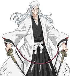Jūshirō Ukitake is the captain of the 13th Division in the Gotei 13. His lieutenant is Rukia Kuchiki.