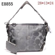 Coach Best Bags Hobo sliver gray