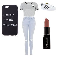 """""""Baby ariel inspired outfit"""" by olivia-679 ❤ liked on Polyvore featuring WithChic, Topshop, adidas and Smashbox"""