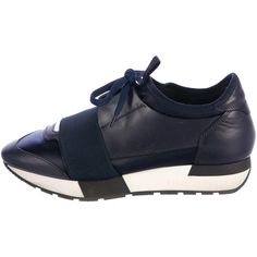 Pre-owned - Leather low trainers Balenciaga pnG50wN