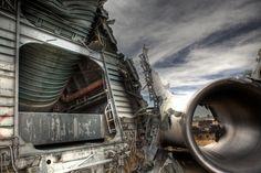 fuselage Mojave Air and Spaceport