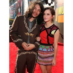 Ezra Miller and Emma Watson