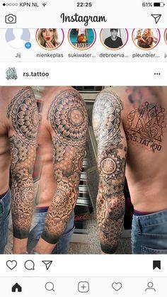 pattern tattoo sleeve men ~ pattern tattoo & pattern tattoo sleeve & pattern tattoo design & pattern tattoo men & pattern tattoos for women & pattern tattoo design geometric & pattern tattoo sleeve men & pattern tattoo sacred geometry Mandala Tattoo Mann, Mandala Tattoo Sleeve, Geometric Sleeve Tattoo, Geometric Tattoos Men, Full Sleeve Tattoos, Zen Tattoo, Tattoo Abstract, Best Tattoo Designs, Tattoo Sleeve Designs