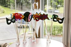 Wedding of the Week: Fallyn Petherick and Grant Bevington | Queensland, Australia wedding (Sunshine Coast) | DIY Marvel comic superhero masks | weddingsite.co.uk
