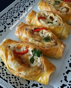- im My burritos, which make them think they are donuts when they are cooked, then make puff pastry p, Cookie Recipes Russian Recipes, Turkish Recipes, Ethnic Recipes, Crepes, Turkish Breakfast, Arabian Food, Turkish Delight, Cheddar, Nutella