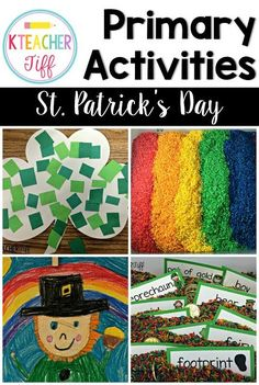 Introduce the St Patrick\'s Day celebration into your classroom with ...