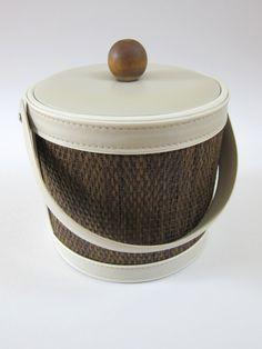 Mid Century Modern Georges Briard Ice Bucket by RedStaplerVintage