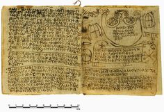 "Ancient 'Handbook of Ritual Power' deciphered. Written in Coptic around 1,300 years ago, it tells readers how to cast love spells, exorcise evil spirits and treat ""black jaundice,"" a bacterial infection that is still around today and can be fatal. The ancient book starts with a lengthy series of invocations that culminate with drawings and words of power."