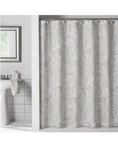 Flatiron Linen Paisley 72 Inch X Shower Curtain Grey From Bed Bath Beyond
