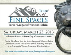 Tour of Fine Spaces - March 23, 2013