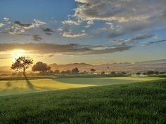 Hole 7, Par 4 Hcp 1, Golf Son Gual Mallorca
