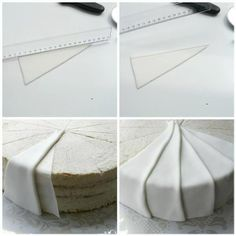 How to do fondant pleats