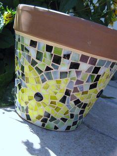 #mosaic #planter