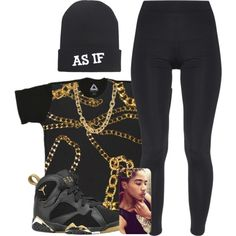 """""""Last One For Tonight (My Outfit For School Might Not Be Going Tho)"""" by myia-nicole on Polyvore"""