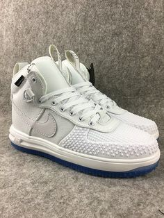 quality design d69bc 28f8c Mens Nike Lunar Force 1 Duckboot Trend Shoes United States all white  Entenstiefel, Nike Stiefel