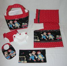 Bitty Baby Basics in Raggedy Ann and Andy by cupcakecutiepie,