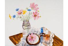Spring Flowers by Nita Marlette