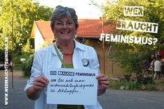 """""""Ich brauche #Feminismus um das noch immer existierende Ungleichgewicht zu bekämpfen."""" (Charlotte)"""
