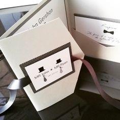 LGBT - Lesbian- Gay Wedding Invitation- Groom / Groom Monogram trifold by Lovetobeinlovestudio on Etsy https://www.etsy.com/listing/222138250/lgbt-lesbian-gay-wedding-invitation