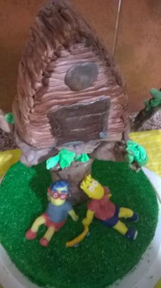 Torta Simpson todo comestible