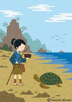 Yasushi Muraki Japanese illustrator / http://melon33.jimdo.com/g-a-l-l-e-r-y/ https://www.behance.net/yyasum3838